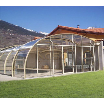 Prefabricated Outdoor Diy Retractable Winter Garden Roof
