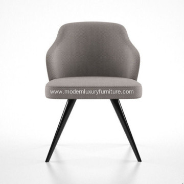 "Factory Supplier for Fabric Luxury Dining Chair Minotti Rodolfo Dordoni Leslie ""Dining"" Little armchair supply to Japan Exporter"