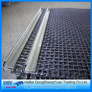 Mine Sieving Crimped Mesh Wire