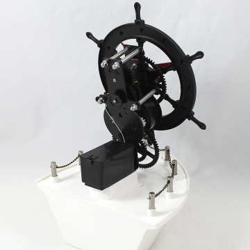 Giant Ship Rudder Gear Desk Clock