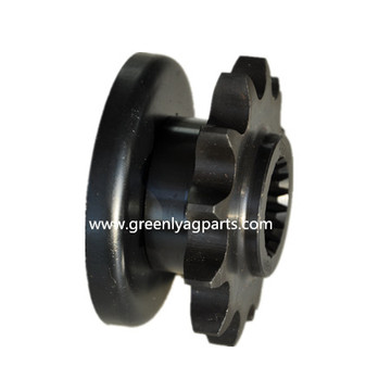 AH117552 Sprocket 12 teeth with flange spacer