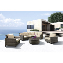 Special for Modular Seating,Wicker Sofa Set,Outdoor Sectional Sofa,Garden Outdoor Sofa Manufacturers and Suppliers in China Patio Deep Seating Outdoor Sofa supply to Italy Factories