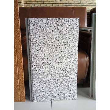 Exterior wall materials used In building construction