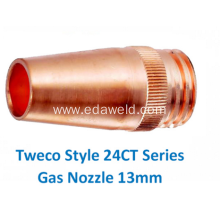 Good Quality for Automatic Gas Filling Nozzle Tweco 24CT50 Gas Welding Nozzle export to Cuba Suppliers