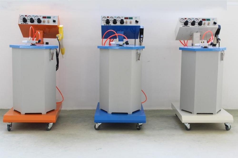 plastic powder coating machine