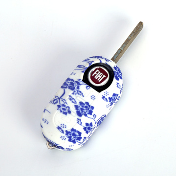 Cheap custom fiat 500 silicone key