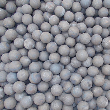 High hardness solid forged ball for ball mill