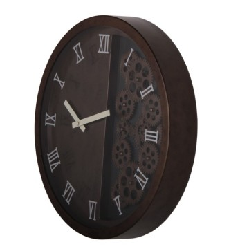 Leading for China Decorative Wall Clocks,Luminous Wall Clock,Wall Light Decoration Manufacturer and Supplier 16 Inch Vintage Style Decorative Wall Clock export to Mali Supplier