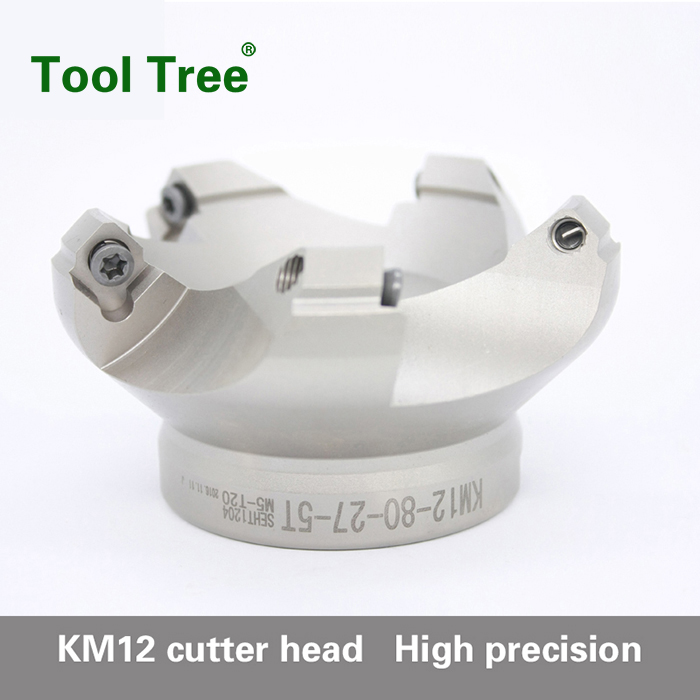 KM45 Degree Face Mills