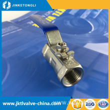 ANSI new products urban construction long working life 1/8 inch ball valve