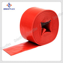 Excellent tensile strength hose lay flat irrigation pipe