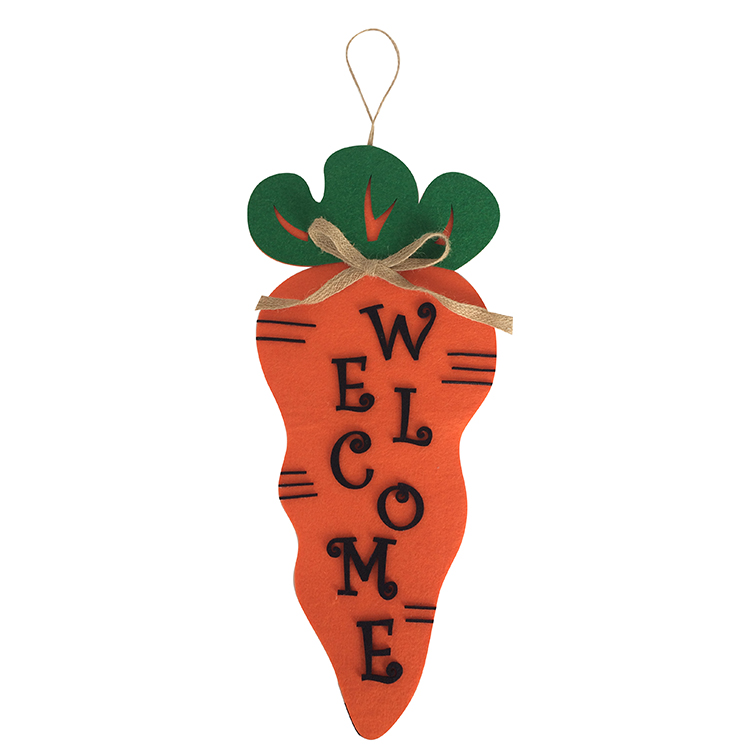 Easter Carrot Hanging Wall Decorations