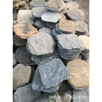 Natural slate stepping stones