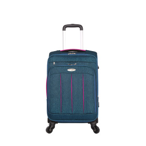 Adult nylon spinner airplane trolley luggage sets
