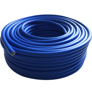 Braided rubber high pressure air hose