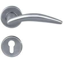 Fast Delivery for Solid Door Handle On Rosettes Furniture Hardware  Door Handle supply to Armenia Manufacturer