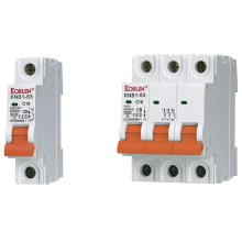Distribution box dedicated miniature circuit breaker MCB 1A-63A with IEC60898 Certification