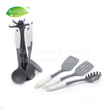 PP Handle Nylon Tools Set With Rotated Stand