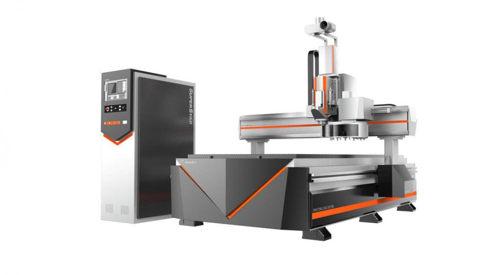 ATC wood miliing cnc router machine