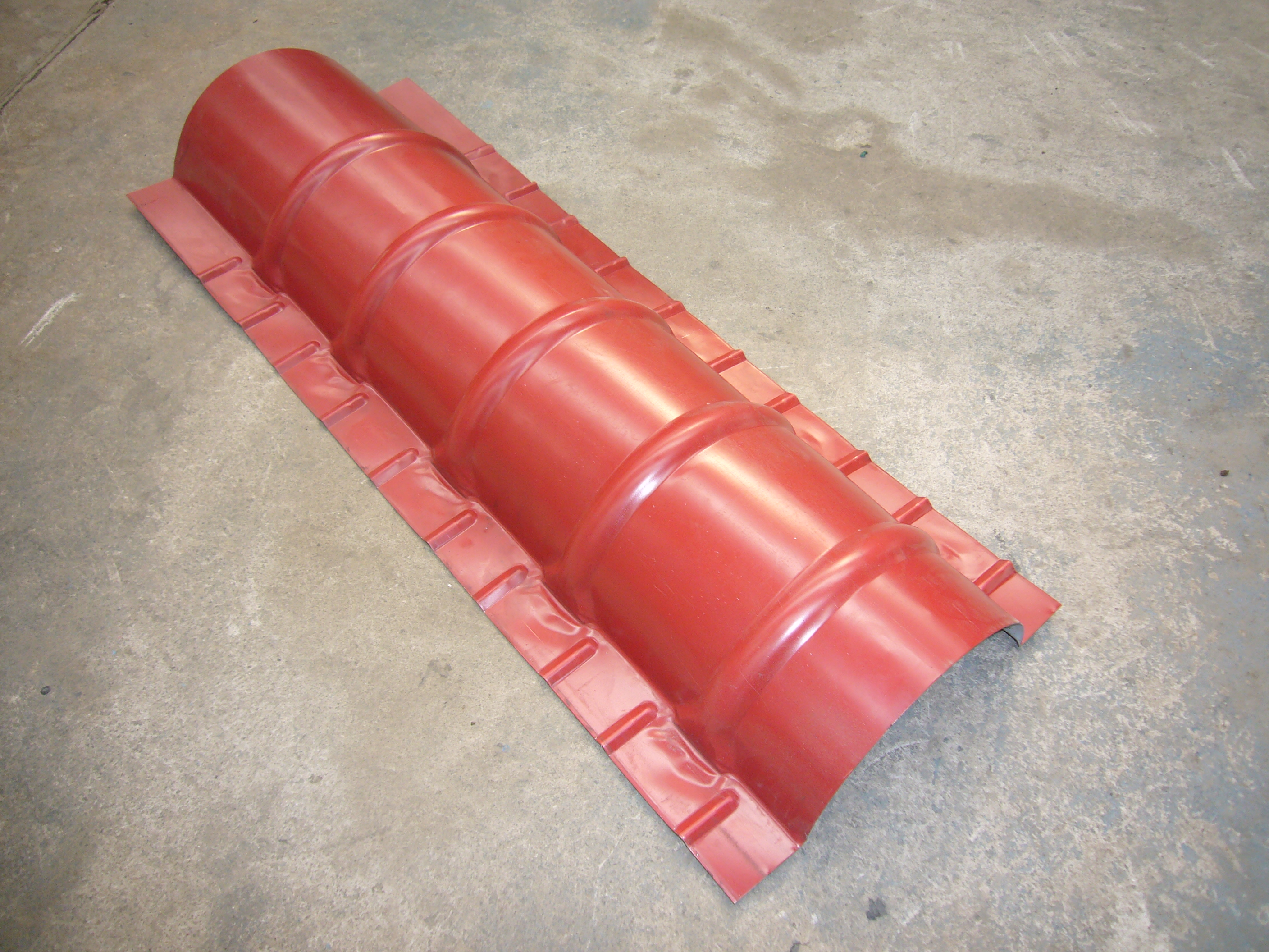 Commercial Ridge Roll Forming Machinery