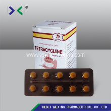 Best Price for Animal Medicine Oxytetracycline Injection Animal Oxytetracycline Tablet 200mg export to Spain Factory