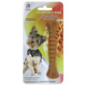 "Percell 4.5"" Nylon Dog Chew Spiral Bone Honey Scent"