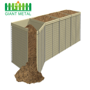 High Quality Military Galvanized Blast Wall Hesco Barrier