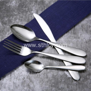 Stainless Steel Cutlery Fork and Spoon Set
