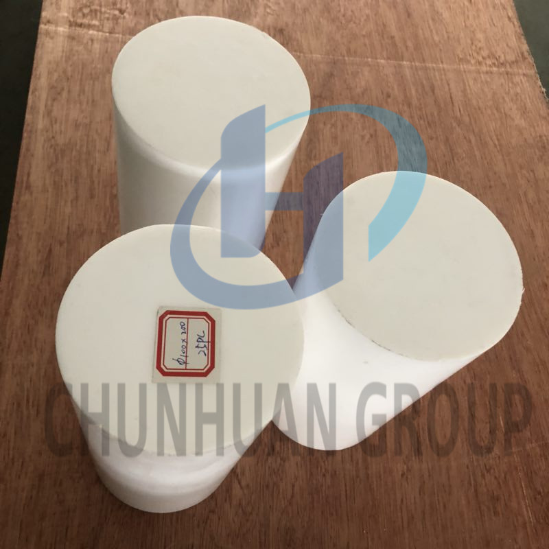 100% Virgin Extruded  PTFE solid rods/ bar