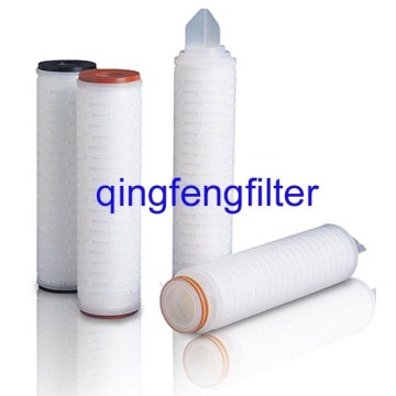 0.2um Hydrophobic PTFE Filter Cartridge For Air Filtration