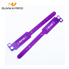 RFID PVC Wristband for Access / Concert Festival