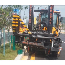 China for Rough Road Used Pile Driver Vibrate Machine for Guardrail Installation supply to Aruba Exporter