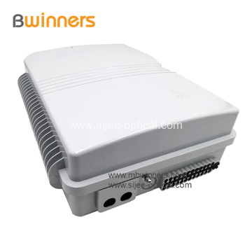 FTTH 16 Core Fiber Optic Distribution Box Waterproof IP65 Distribution Box