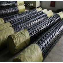 China for Uniaxial Geogrid Excellent Creep Resistance Polyester Geogrid for Road export to Algeria Importers
