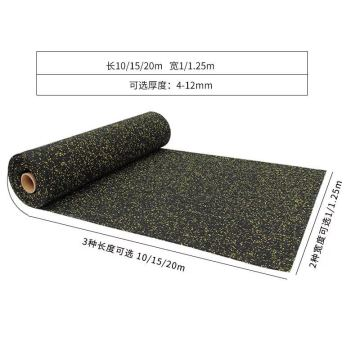 Rubber Roll Matting For Flooring