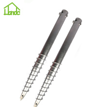 Customized for China N Ground Screw,Ground Screw with Nuts,Honde Ground Screw,Ground Screw Piles,Ground Screw Anchor,Small Ground Screw Manufacturer Free Sample Ground Screw Pile For Garden's Foundation supply to Libya Manufacturer