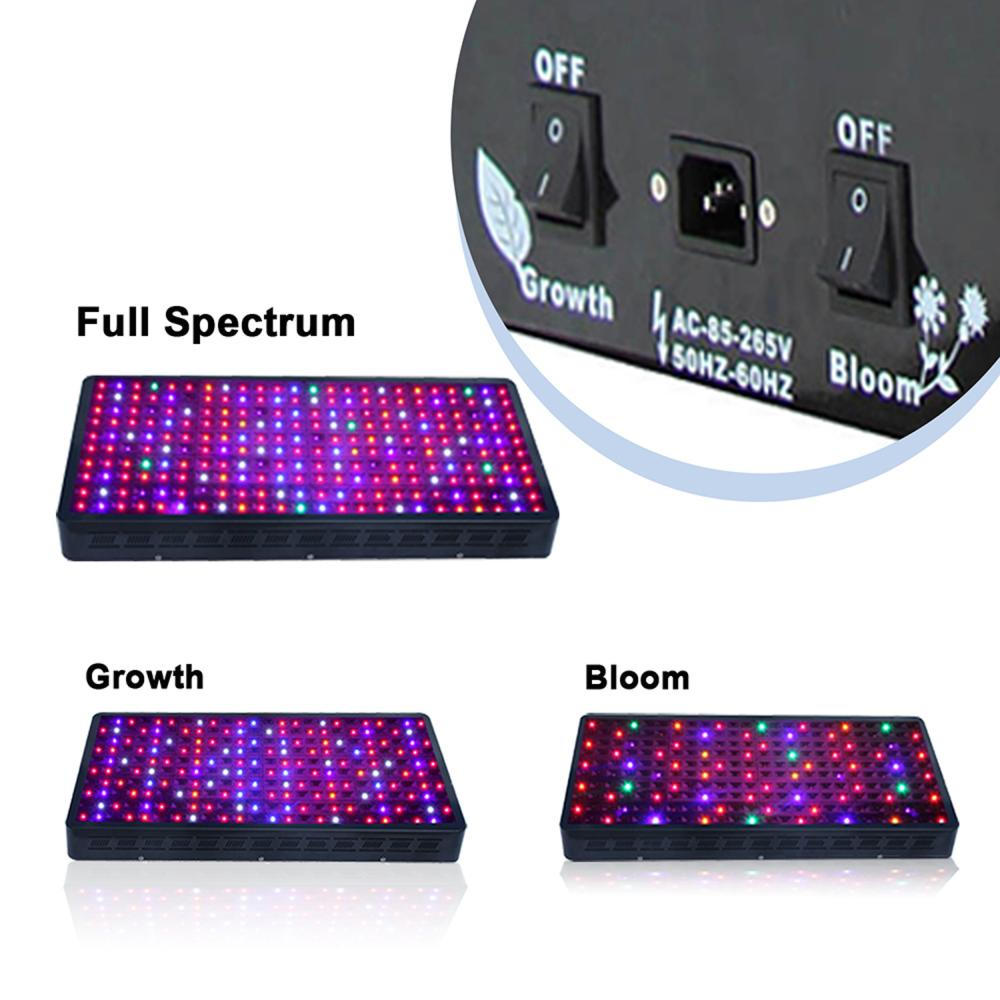 Switchable led grow light lamp 1200W