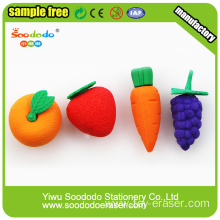 3D Eggplant Shaped Stationery Eraser
