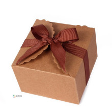 Cookies Kraft Paper Folding Gift Food Box