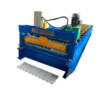 Trapezoidal metal color roofing forming machinery