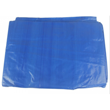 Waterproof Roof Cover Tarps 2X3m Blue PE Tarpaulin