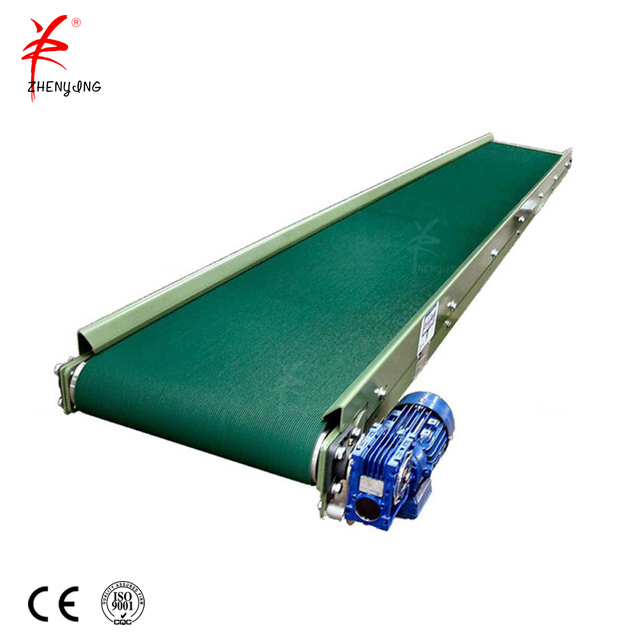 Industrial idler roller  horizontal light belt conveyor