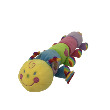 Colorful 8 Pinworms Plush Toy