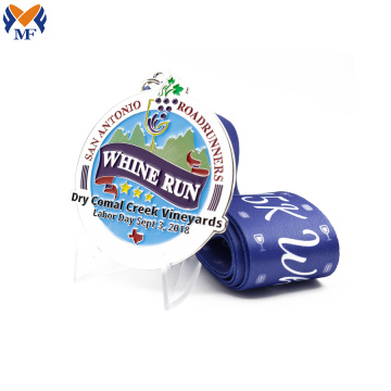 Custom running races enamel with finisher medals