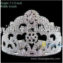 Bridal Wedding Party Pageant Crystal Tiara Crown
