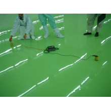 Antistatic epoxy for hospitals and laboratories