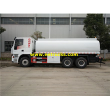 13 CBM Hongyan Corrosive Liquid Transport Trucks