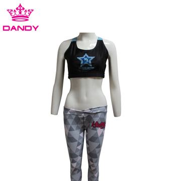 Sublimated Triangles Patterned Leggings