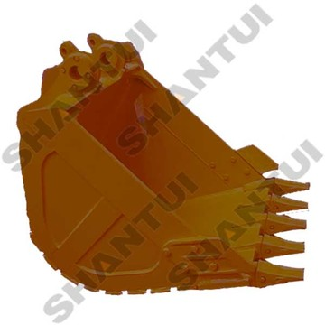 high strength steel excavator rock bucket