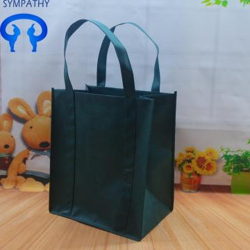 Green bag shopping bag advertising gift bag